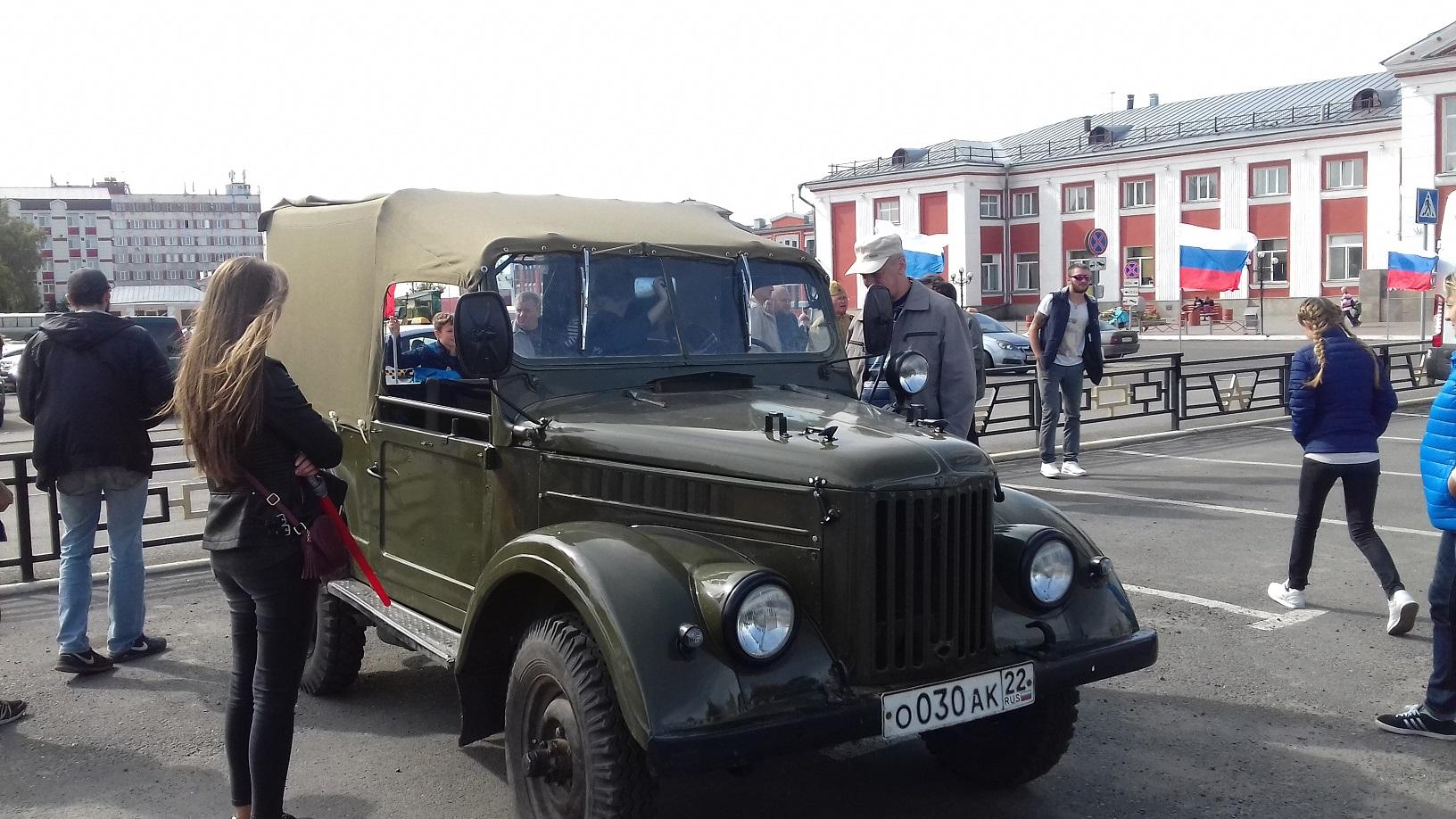 Легендарный ГАЗ-69